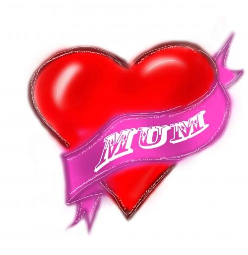 Heart Mum