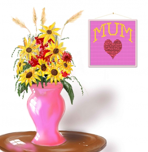Pink Vase Mothers Day 4