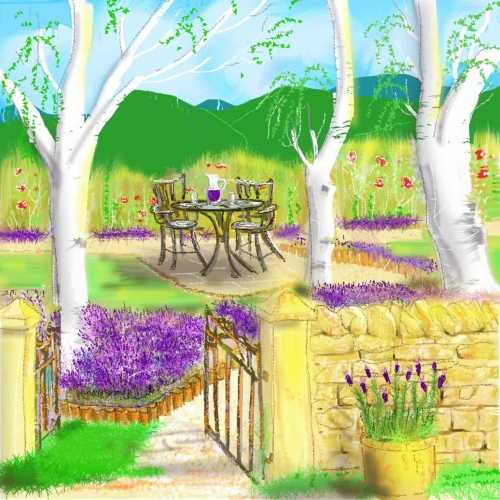 Cotswold Lavender Garden